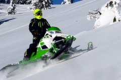 The M6000 SnoPro returns for 2017, and is being pushed by Arctic Cat -- more aggressively -- as the best 600 performance for the money.