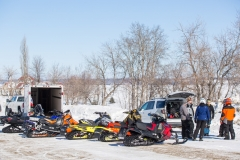 Snowmobile-Staging-Area