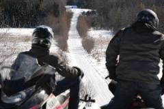 Bracebridge-Snowmobile-Trail-View