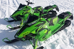 The Mountain Cat has purpose. Though the Chassis is in fifth year, Arctic Cat has made it nimble. Don't loose site of this fine product among the other builders' mountain snowmobile. It is a serious boonie basher.