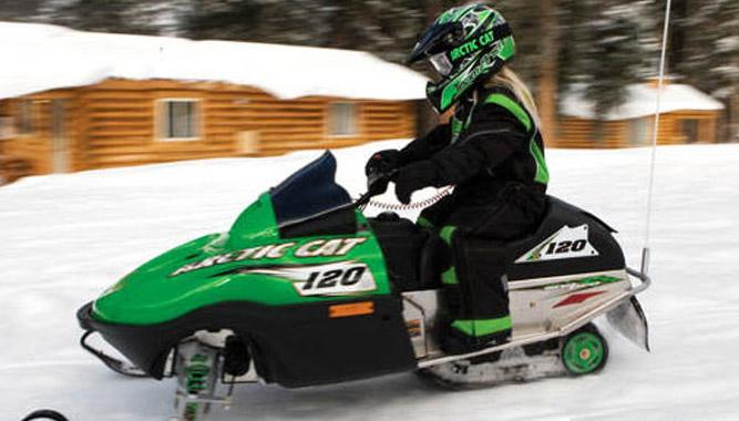 Arctic Cat F120 Snowmobile Com