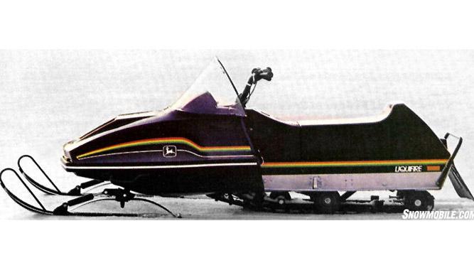 Snowmobiles For Sale >> 1983 John Deere Liquifire - Snowmobile.com