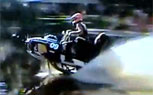 Snowmobile Watercross Racing on a La-Z-Boy Recliner
