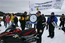 Matt Weidinger Smashes Snowmobile Distance Record