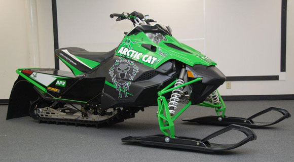 2008 Arctic Cat M8 Sno Pro. 2011 Arctic Cat Race Sled