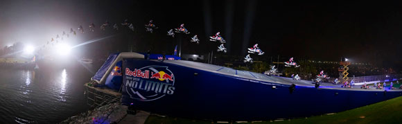 Levi LaVallee and Robbie Maddison Record Jump
