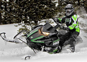 Arctic Cat Demo with Amber Holt