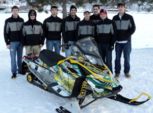 Clarkson University Clean Snowmobile Challenge
