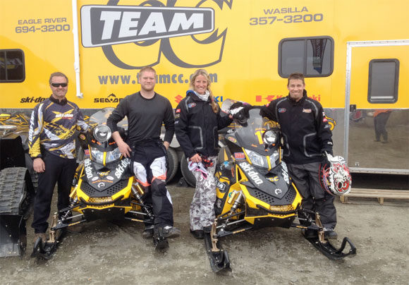 Ski-Doo Riders Win Arctic Man