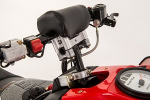 2013 Polaris 600 IQ Race Sled Handlebar
