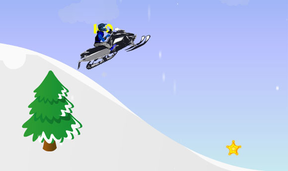 Snowmobile Race Game