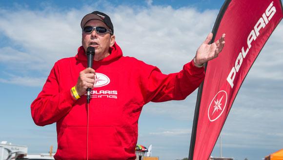 Tom Rager Sr. - Polaris Racing Manager