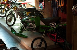 Christian Brothers Racing Sled Troy Lee Studio