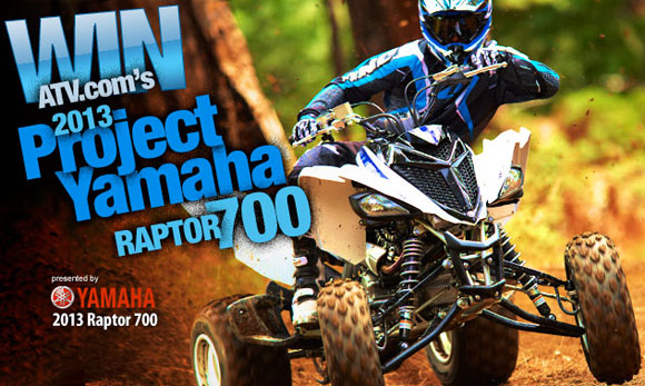 Yamaha Raptor 700 Project