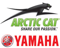 Arctic Cat and Yamaha Logos