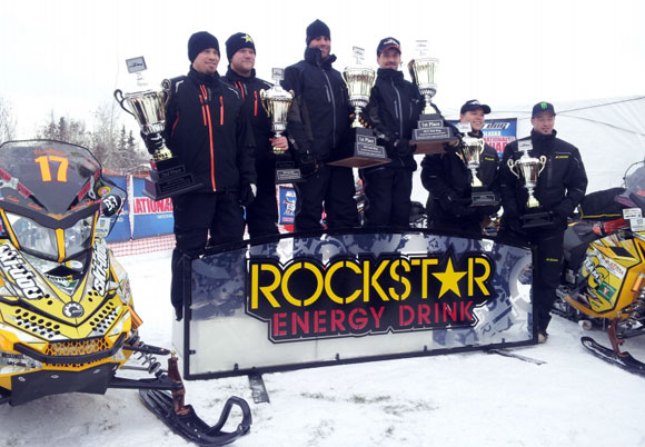 2013 Iron Dog Classic Podium