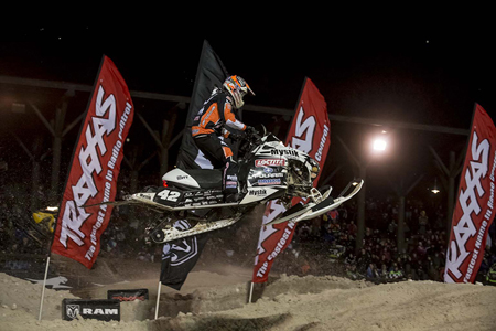 Jake Scott Wins At Deadwood Snocross National