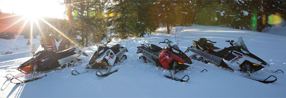 Polaris Indy Snowmobiles