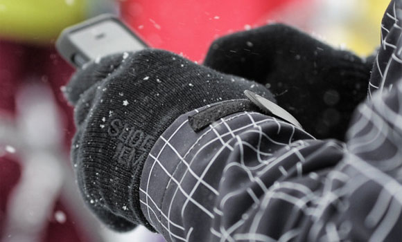 Slide 'Em Touchscreen Gloves