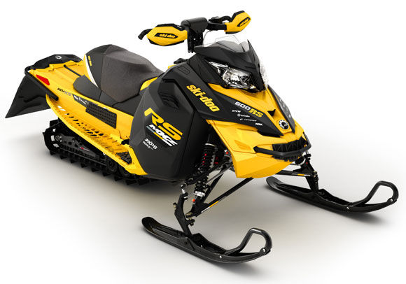 2014 Ski-Doo MX ZX 600RS Front Right