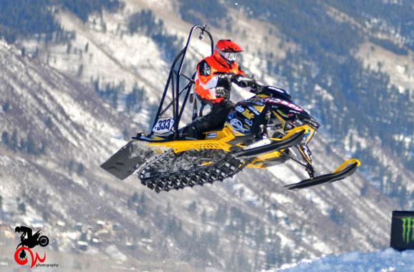 Garrett Goodwin X Games Snocross Jump