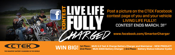 CTEK Fully Charged Contest