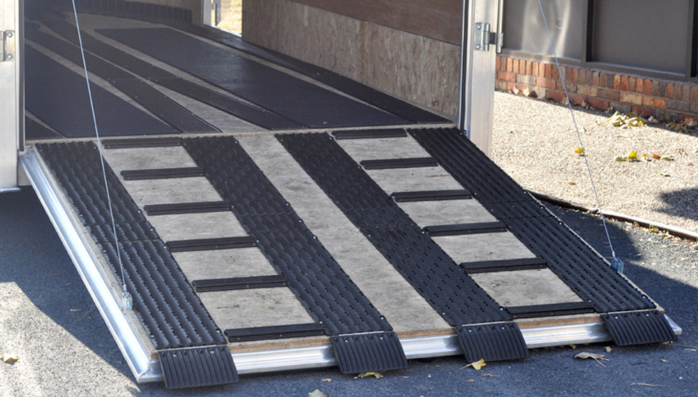 Enclosed Snowmobile Trailer Flooring Options Designs