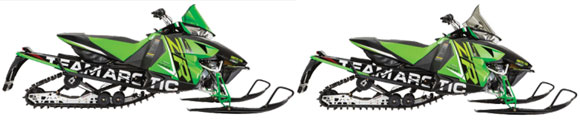 2015 Arctic Cat Race Sleds