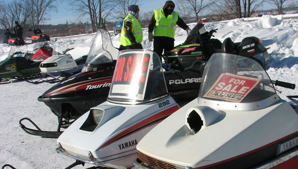 a 1 snowmobile swap meet