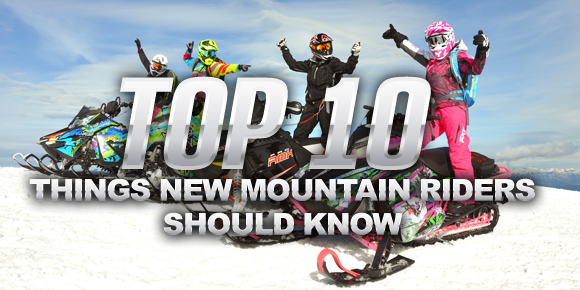 Top 10 Things New Mountain Riders Should Know