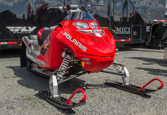 2016 Polaris Race Sled Front