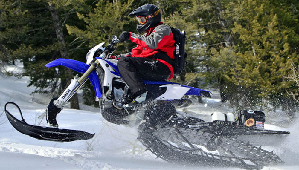 Who Is the Snowbike Rider?