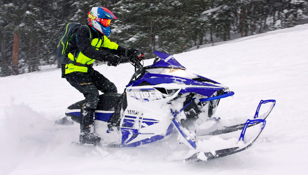 2016 yamaha sr viper m tx le 153 long term review for Yamaha snow mobiles