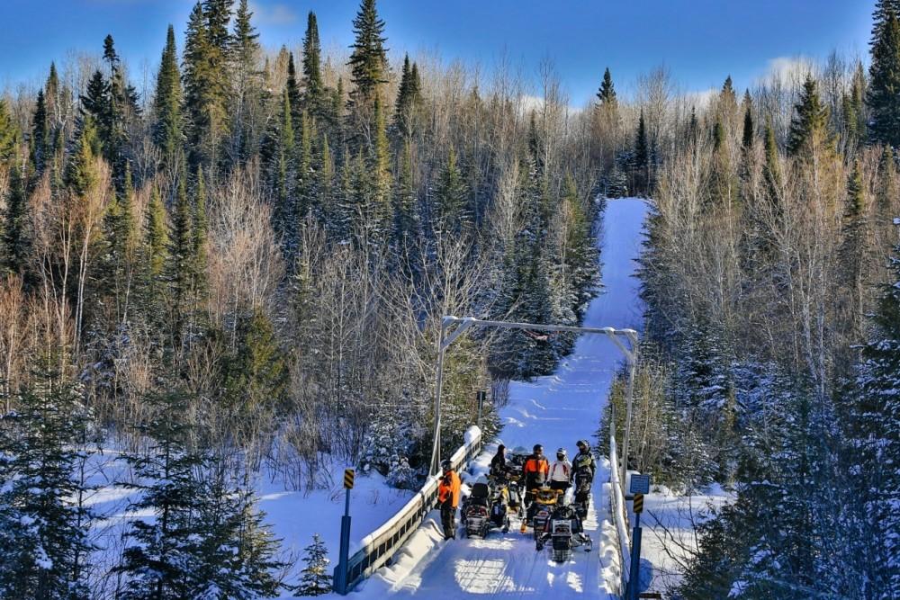 Cochrane Snowmobile Bridge