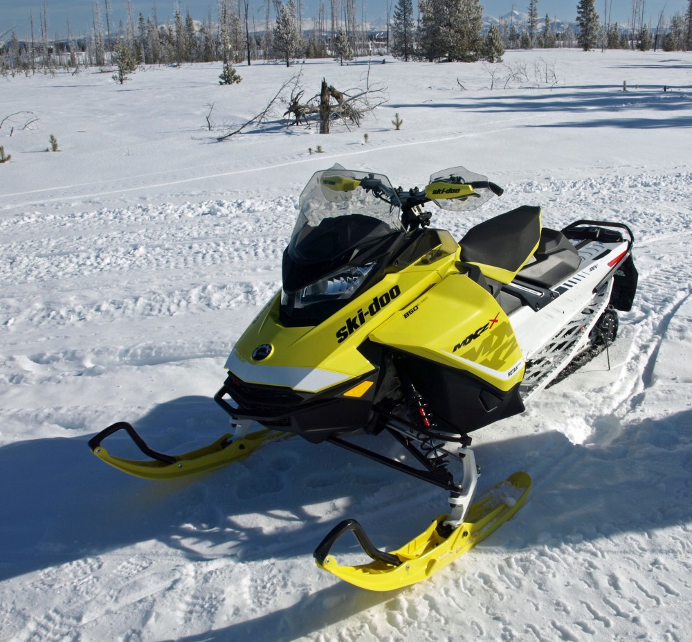 Styling for the GEN-4 series of Ski-Doo models brings in a sense of the pioneering manufacturer's heritage.
