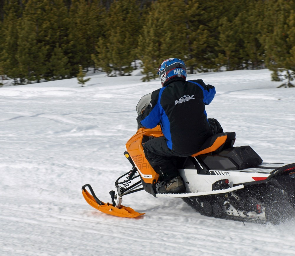 Ski-Doo's Renegade 850 combines a new 850cc ETEC twin with a fourth generation REV platform.