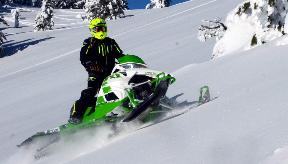 Arctic Cat Camo Snowmobile