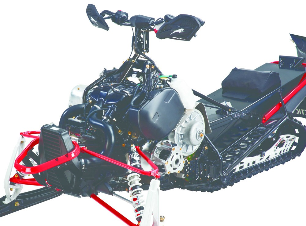 2017 Arctic Cat Thundercat Engine