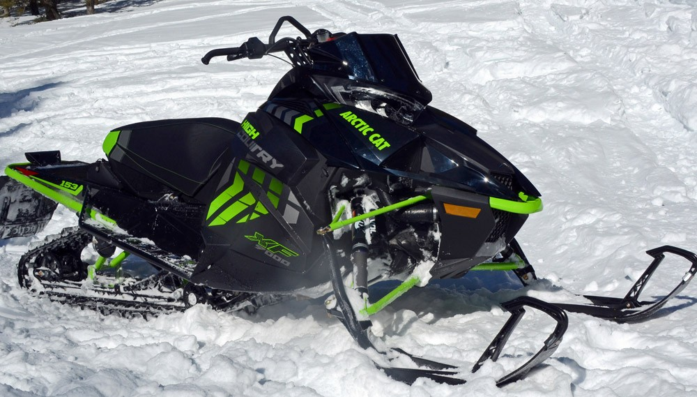 2017 Arctic Cat XF 9000 High Country