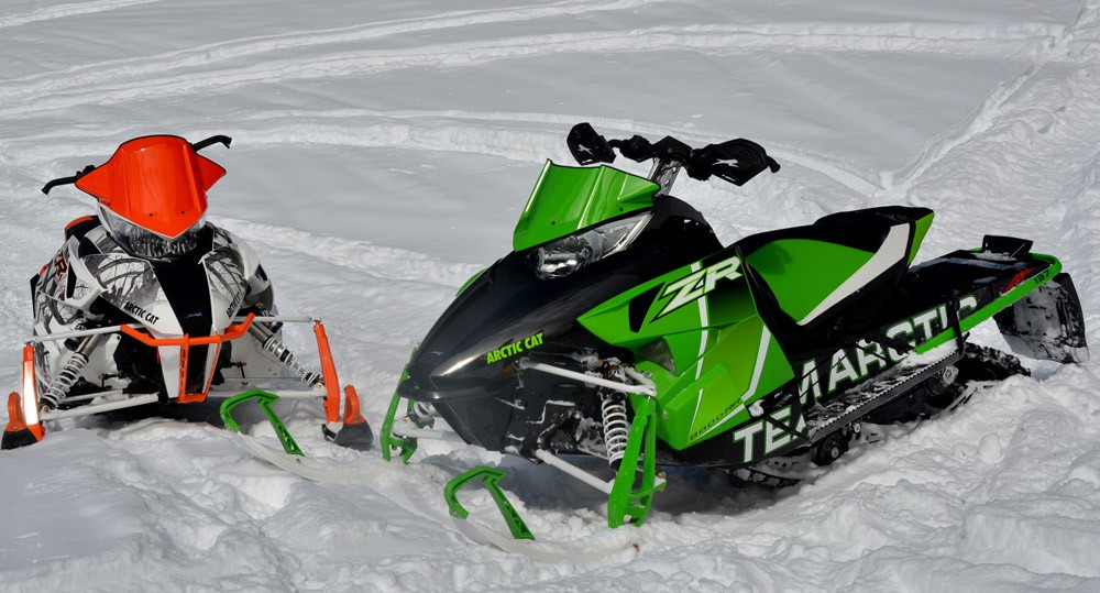 2017 Arctic Cat ZR8000 Pair