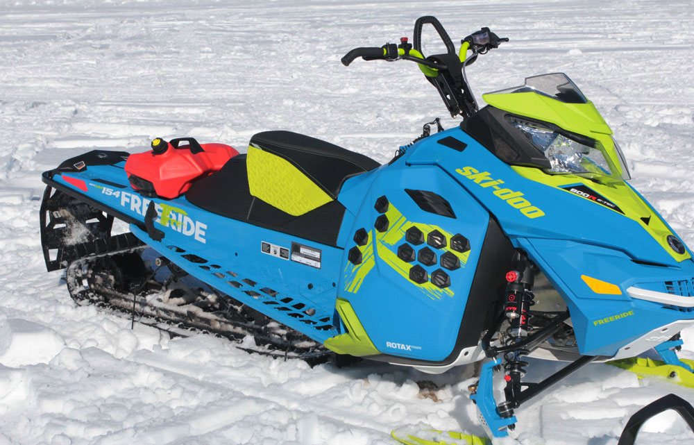 Freeride Snow Mobile : Thoughts from high atop the mountain snowmobile