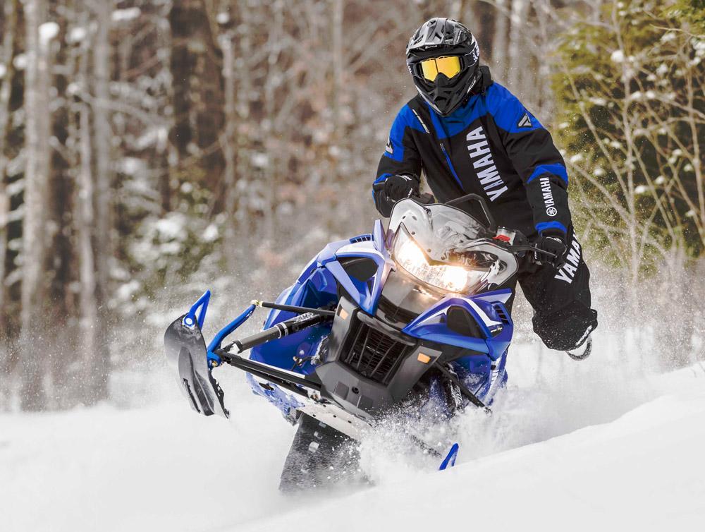 Yamaha snowmobiles offer big power in 2017 for New yamaha snowmobile