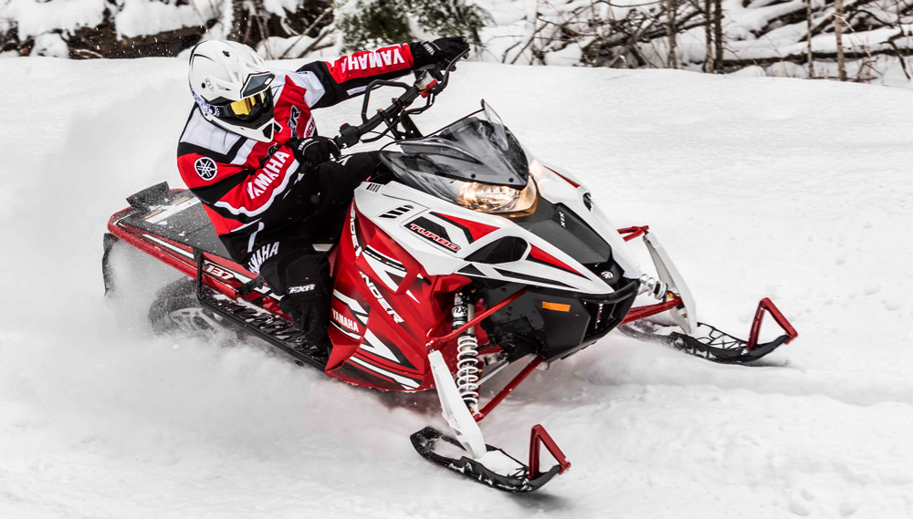 yamaha snowmobiles offer big power in 2017