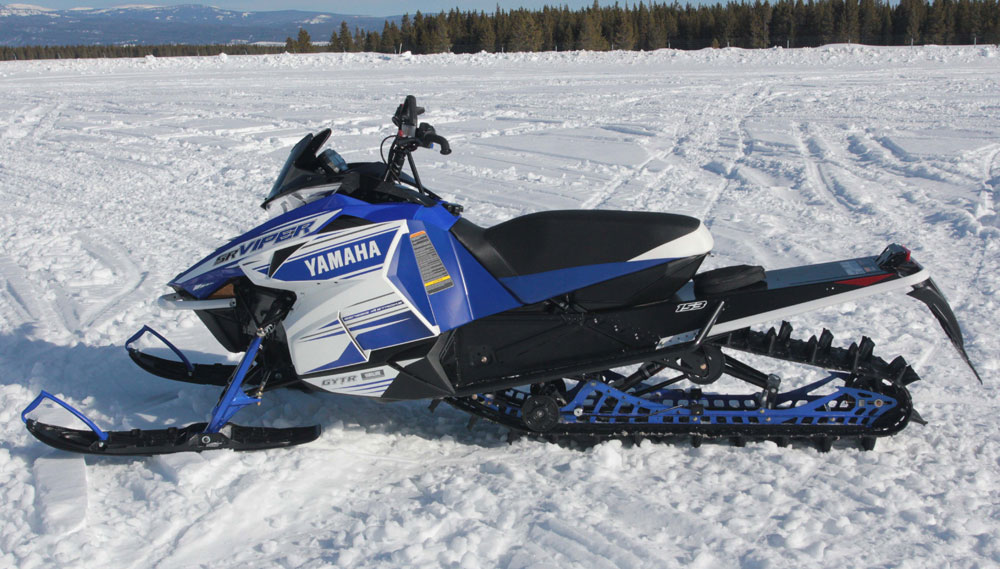 Thoughts from high atop the mountain for Yamaha snow mobiles