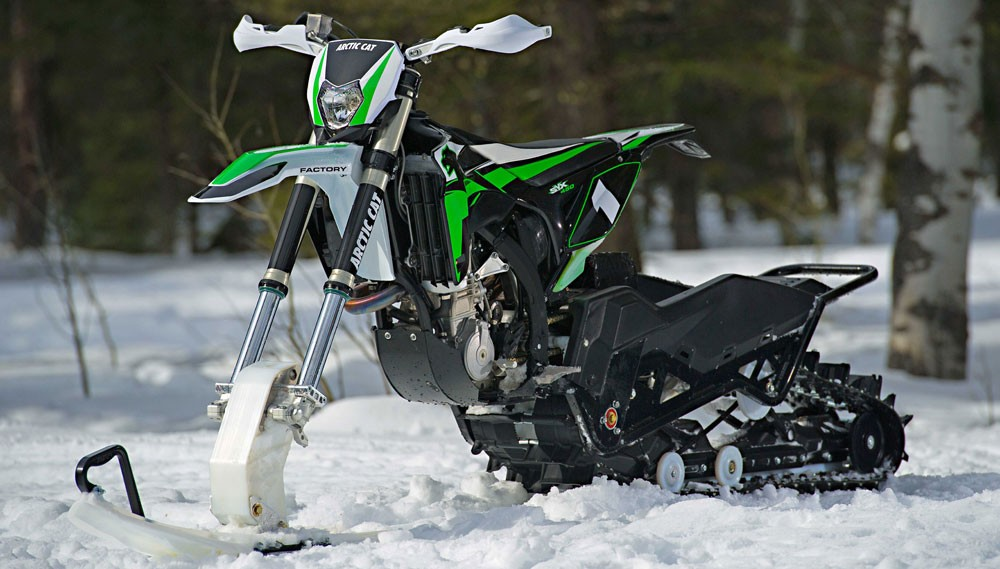 Arctic Cat SVX 450 Profile