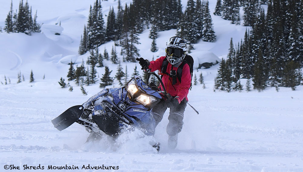 An Epic Off-Trail Adventure for New Mountain Snowmobilers