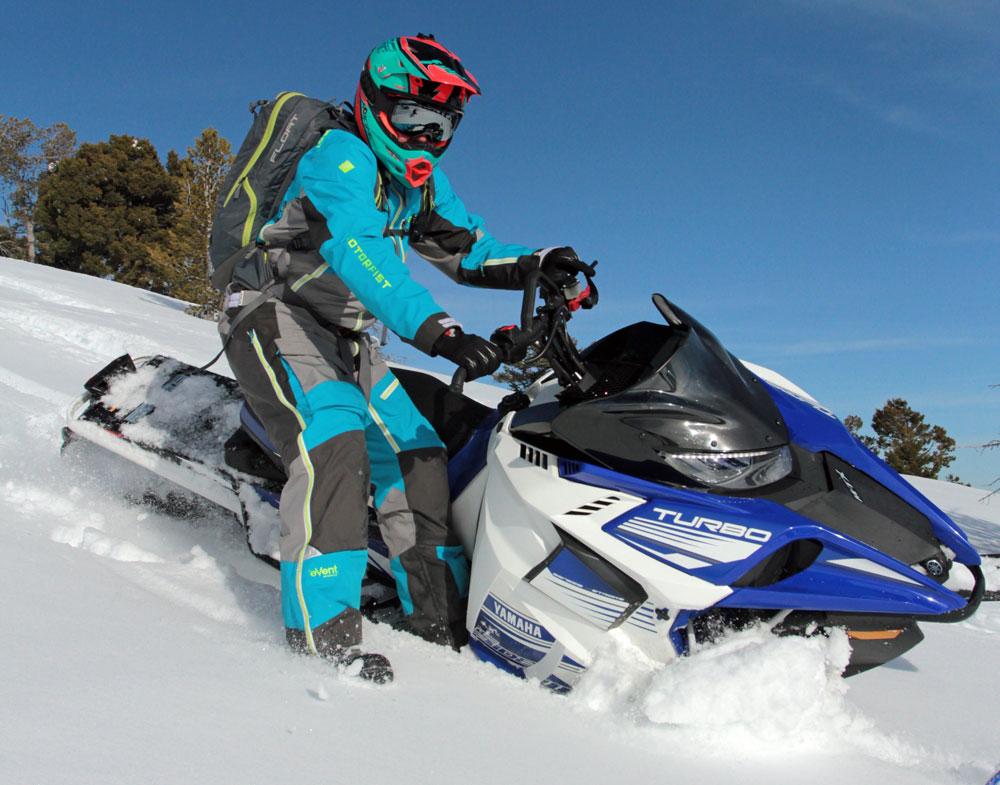 Yamaha Trail Rider Snowmobile