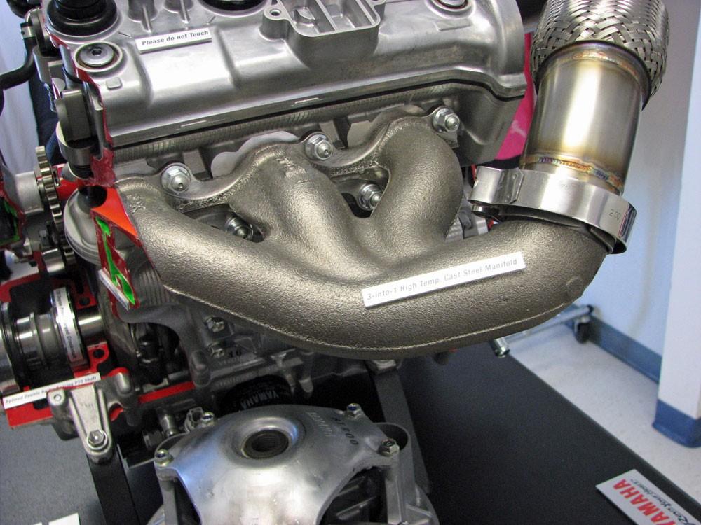 Yamaha 998 Turbo Exhaust Manifold