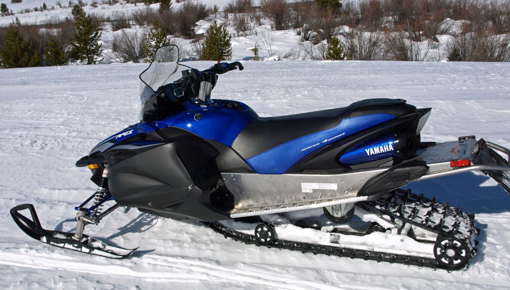The yamaha arctic cat connection for Yamaha snow mobiles