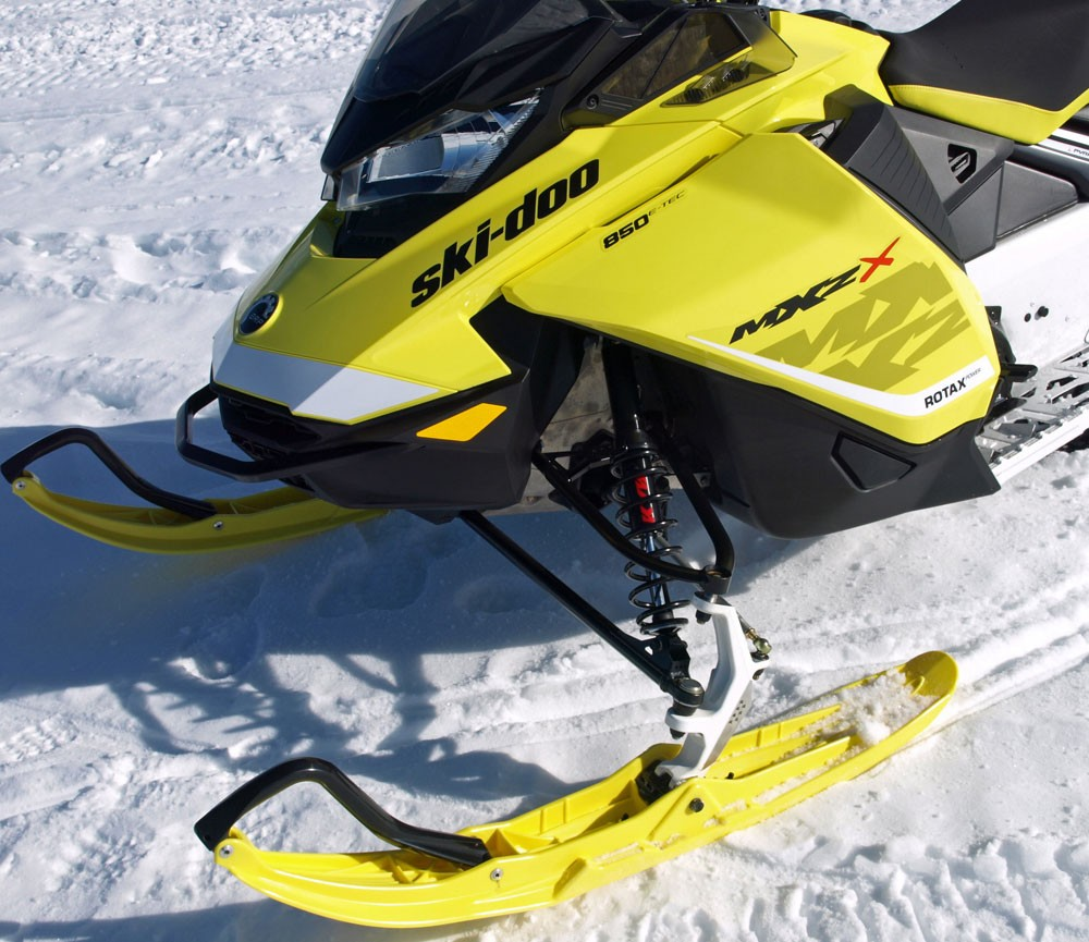 2017 Ski-Doo MXZ X 850 Front Suspension